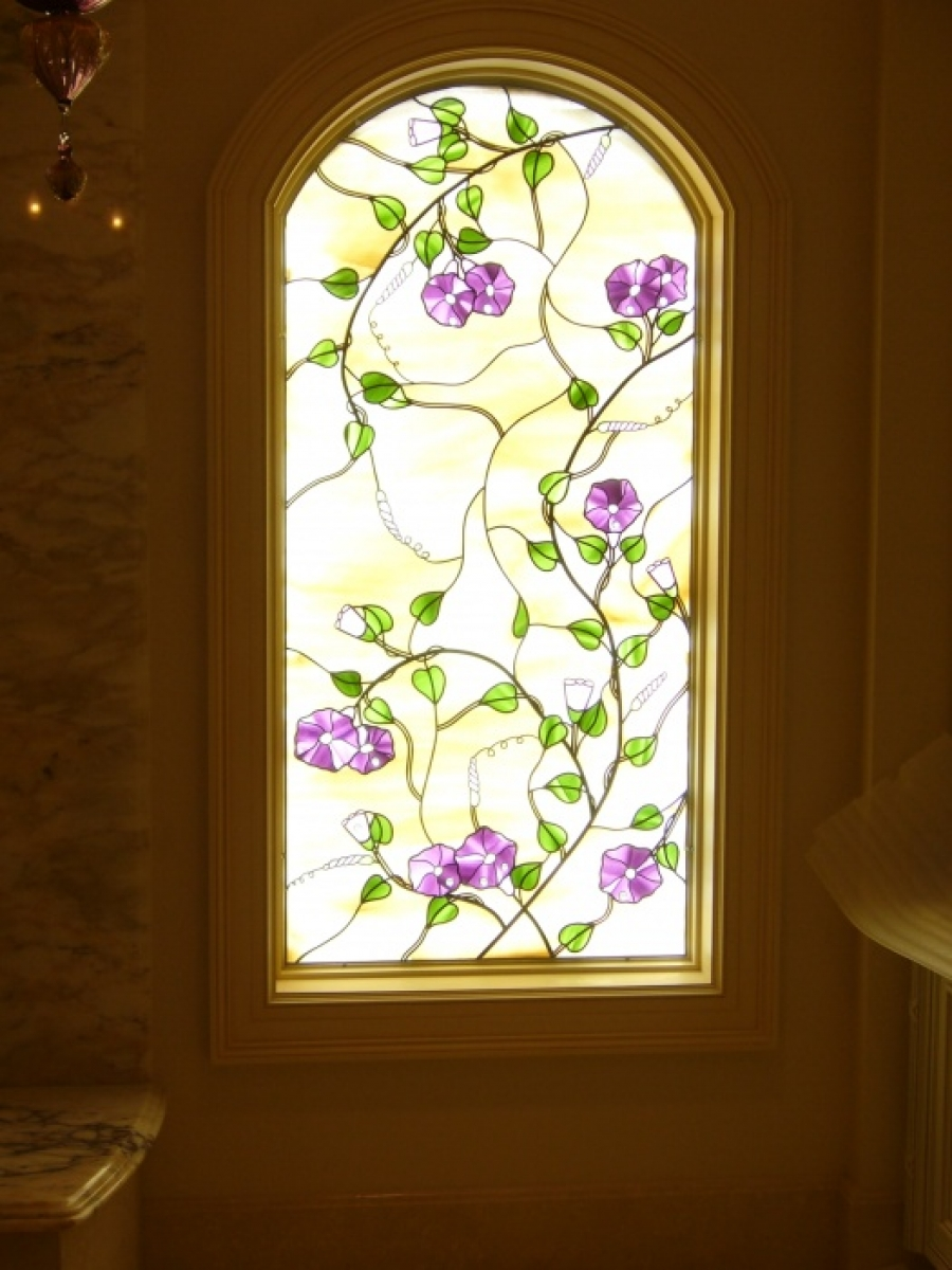 Stained Glass Overlay
