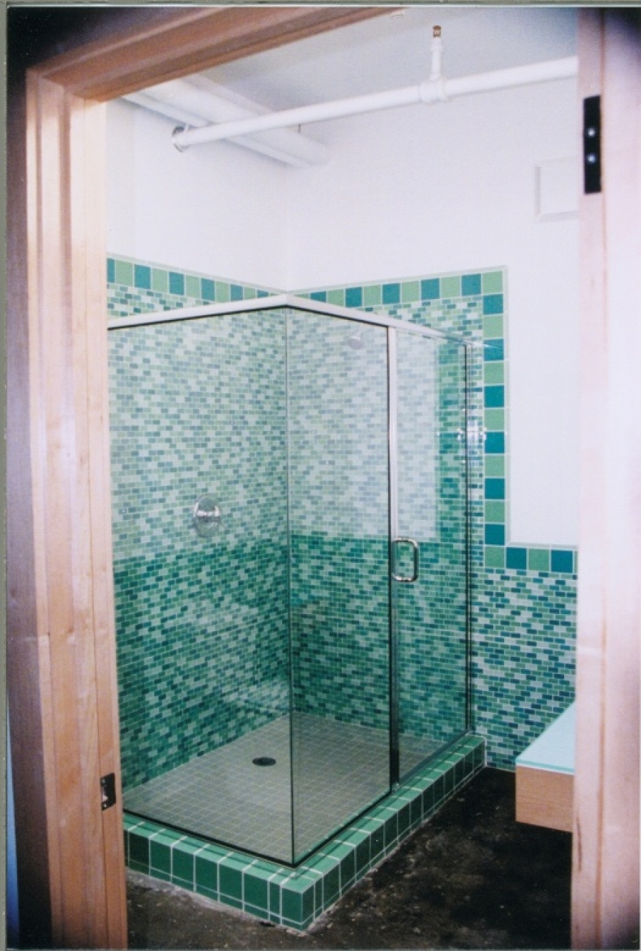 Crystalline Semi-Frameless Hinge Shower Doors