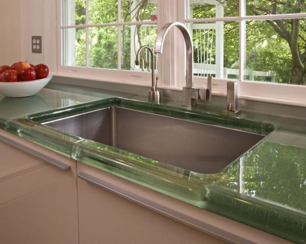 Modernize Your Kitchen With Luxury Glass Countertops